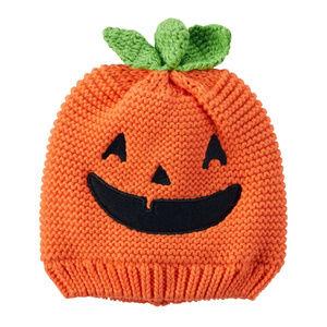 Carters Baby Boy Girl Pumpkin Orange Hat Halloween
